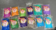 McDonald's Ty Beanie Babies Complete Set of 12 (1998)