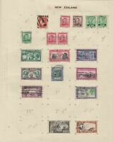 new zealand stamps page  ref 18891