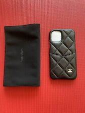 100% Authentic Chanel Black Caviar Iphone 11 Pro Case.  Sold Out Everywhere