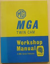 MG MGA Twin Cam Workshop Manual AKD926B 1969 REPRINT although this is not stated