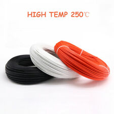 Heat Resistant 03mm 6mm Fibreglass Wire High Temp 250 Appliance Cable Colors