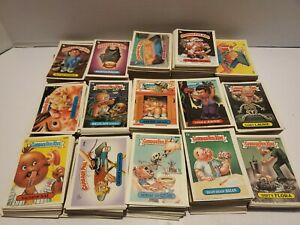 Random Lot Of 25 Original Garbage Pail Kids Cards From Series 4-series 14 (No...