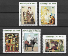 NIGER  N°299/303 PA POSTE AERIENNE 1981  NEUF ** LUXE TOP AFFAIRE !!!!!!!!!!!!!!
