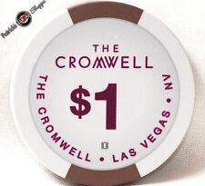 One Dollar Poker Gaming Chip The Cromwell Hotel Casino Las Vegas Nevada 2014