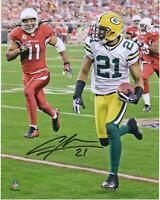 "Charles Woodson Green Bay Packers Signed 8"" x 10"" Interception Return Photo"