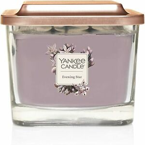 Yankee Candle Elevation 3-Wick Square Candle, Medium,  Evening Star