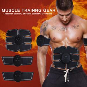 ABS Trainer Bauchmuskeltrainer Elektro Trainingsgerät Stimulator Exerciser DE