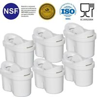 Universal 6 Pack of Water Filter cartridges for Bosch Tassimo Hot drinks machine