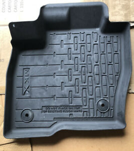 OEM Front Rear All Weather Floor Mats Rubber 16-21 Lincoln MKX/Nautilus