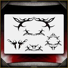 """Tribal 3"" Airbrush Stencil Template Airsick"