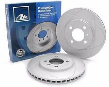 Pair (2) Disc Brake Rotor, Front CW22136 ATE Premium, Mercedes-Benz