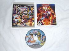 Ultimate Marvel Vs. Capcom 3 Playstation 3 Game Complete PS3 marval mvc US NTSC
