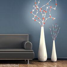 65cm Lighted Branch 48 LED Cherry Blossom Tree Twig Lights Home Interior Decor
