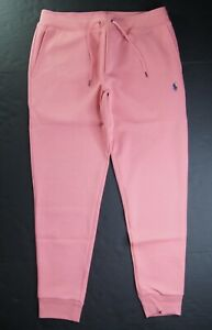 POLO RALPH LAUREN Men's Big & Tall Salmon Pink Double Knit Jogger Pant NEW NWT