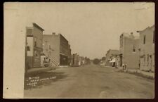 LAWLER IA Iowa c1910 RP Main Street Looking East