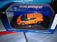 AUTOART 1/43 LAMBORGHINI GALLARDO METALLIC ORANGE NEUF EN BOITE