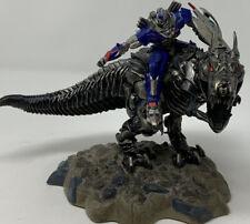 Transformers AOE Optimus Prime Grimlock Tyrannosaurus Dinosaur Rex Statue Figure