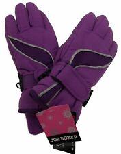 Purple Joe Boxer Girls Gloves 3M Thinsulate Insulation Waterproof Snow Winter