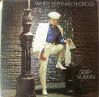 "GARY NUMAN / WHITE BOYS AND HEROES / ORIGINAL 12"" VINYL SINGLE (1982) BEG81 T"