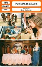 FICHE CINEMA : PERCEVAL LE GALLOIS - Luchini,Dussollier,Rohmer 1979