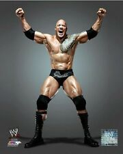 THE ROCK WWE Dwayne Johnson Wrestling LICENSED un-signed poster 8x10 photo