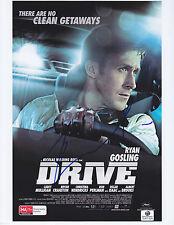 Ryan Gosling - DRIVE - signed 8.5 x 11 COA GAI