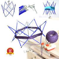 Patchwork Thread Winder Knitting Umbrella Swift Wool Yarn String Winder Tool