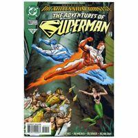 Adventures of Superman (1987 series) #557 in NM condition. DC comics [*80]