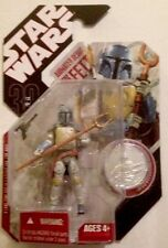 """Star Wars 30 Anniversary BOBA FETT Animated Debut With COIN Action Figure 3.75"""""""