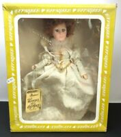 RARE Vintage Effanbee England Queen Elizabeth Doll Box Hang Tag Lace Dress COMPL