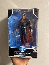DC Multiverse McFarlane SUPERMAN Blue Red Suit Target Justice League Snyder Cut