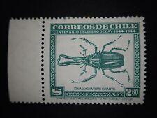 Correos De Chile FAUNA 1948 $2.60 A118 Scott# 255 w/TAB Green Single MLH RARE
