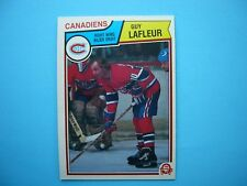 1983/84 O-PEE-CHEE NHL HOCKEY CARD #189 GUY LAFLEUR NM+ SHARP+ 83/84 OPC