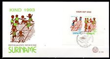 Suriname - 1993 Youth / Games - Mi. Bl. 61 clean FDC