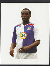 Merlin Football Sticker - Kick Off 2007-08 - No 36 - Blackburn - Dwight Yorke