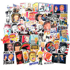 55pcs Trump Bomb Stickers Graffiti Skateboard Sticker Laptop Luggage Car Decal