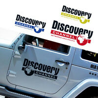 "16"" Discovery Channel Logo Car Sticker Auto Decal Door Vinyl Reflective for Jeep"