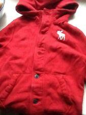 Boys red Abercrombie jumper / jacket