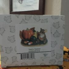 """Charming Tails Figurine """"You'Re Yummy"""" 85/522; New N Box;Mouse Eating Candy Corn"""
