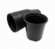 Macetas De Plastico Para Vivero De ½ Gal (.62 Gal / 2.5Qts / 2.37 Litros) 10.