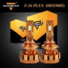 AUXBEAM 9005 HB3 LED Headlight Bulb 6000K White Bright+Decoder Canbus F-16 Plus