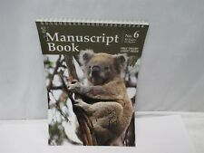 Koala Manuscript Book No. 6 12 Stave 48 Pages Spiral Bound Music Notebook