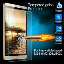 Premium 9H 2.5D Tempered Glass Film Skin For HuaWei Mediapad M2 M2-801w/803L 8""