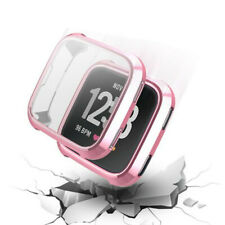 For Fitbit Versa 2 Watch TPU Full Screen Protector Protective Frame Case Cover