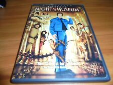 Night at the Museum (DVD, 2009, Widescreen) Ben Stiller Robin Williams Used