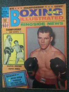 Jerry Quarry - 1967 BOXING ILLUSTRATED Magazine - Complete