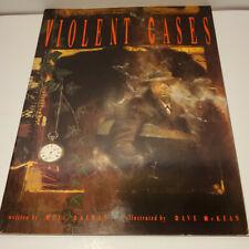 Neil Gaiman Violent Cases Graphic Novel Dave McKean 2nd Printing Tundra 1992