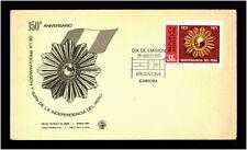 Argentina 1971 Unabhängigkeit del perú cover Stamps