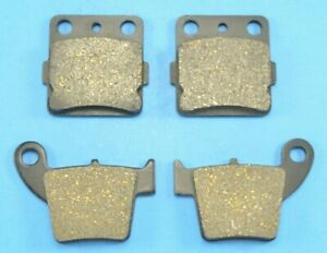 Brake Pads fits Honda CRF150R CRF150Rb 2007-2018 Front Rear Motorcycle Pads