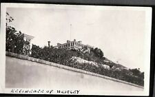 VINTAGE PHOTOGRAPH CHICAGO CUBS WRIGLEY MANSION CATALINA ISLAND CALIFORNIA PHOTO